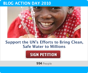 Support the UN's Efforts to Bring Clean, Safe Water to Millions