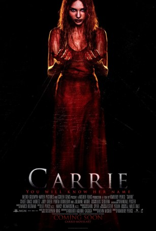 Carrie, 2013, theater poster