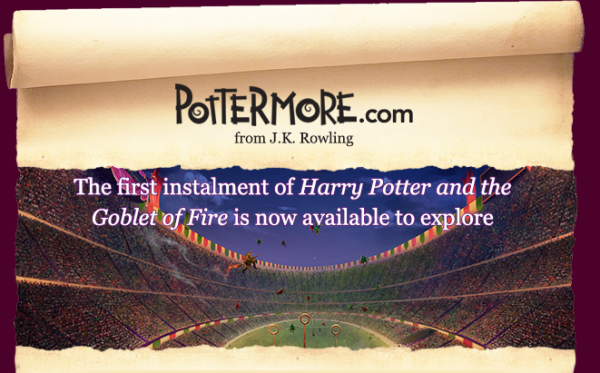 The first installment of Harry Potter and the Goblet of Fire is now available to explore.