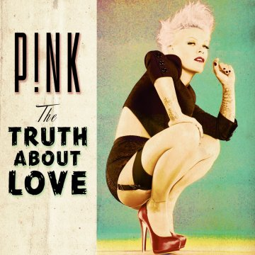 P!nk, The Truth About Love, cover